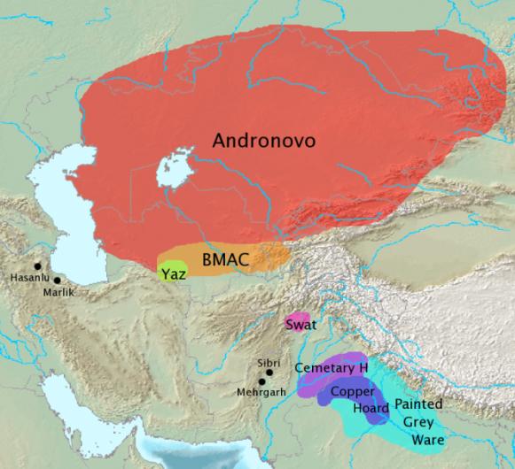 Андроново - Indo-Iranian_origins