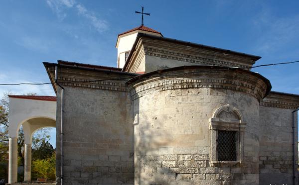 Армянская церковь Сурб-Никогайос (восточная стена)