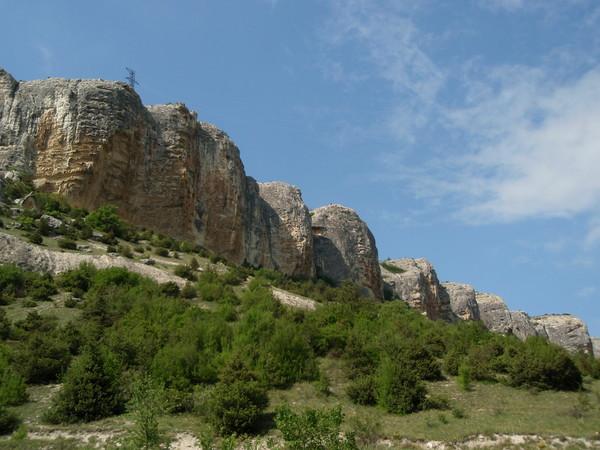 Бельбекская долина-горы-