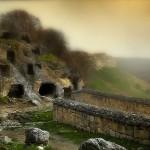 караимское поселение в крепости Чуфут-кале