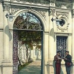 Вход в Караимскую кенасу 1900г.