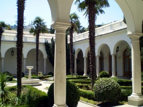 Ливадия. Итальянский дворик