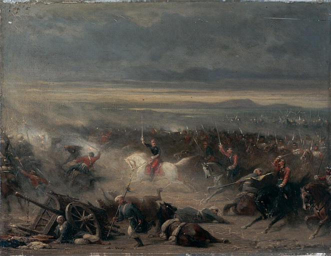 Bataille d'Eupatoria-1855 Крымская война, бой за Евпаторию
