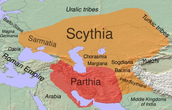 Scythia-Скифия-1в. до н.э.