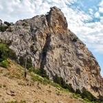 Simeiz- гора Кошка. (Кошкин профиль