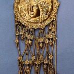 Боспорское царство, курган Куль-Оба-400г.до.н.э.-голова Афины