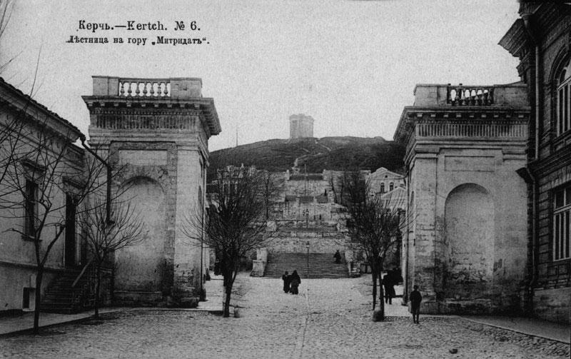 Лестница на гору Митридат-