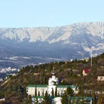the view from the hotel Yalta
