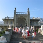 Alupka. Count Mikhail Vorontsov's palace