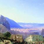 Tiflis by aivazovsky