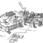 panticapey=на вершине горы Митридат в IV в.до н.э.