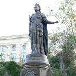 monument -Екатерине Великой в Севастополе