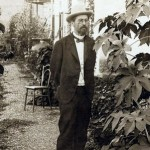 Chekhov in his garden in Yalta