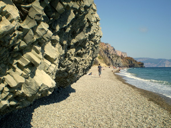 Crimean Basalt  is a common extrusive volcanic rock.
