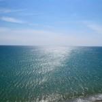 море чистое и вода прозрачная