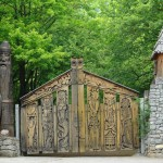 Glade of Fairy Tales and Zoo in Yalta.