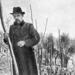 Chekhov planted trees in his garden