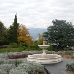the Livadia Palace park