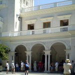 at the Livadia Palace