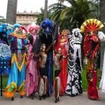 Театр на ходулях в Испании
