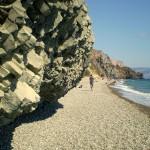 базальтовые скалы Чёрного моря