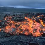 магма-лава вулканическая