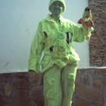 зелёный человечик