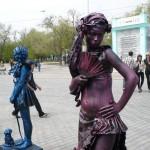 девочка с веером
