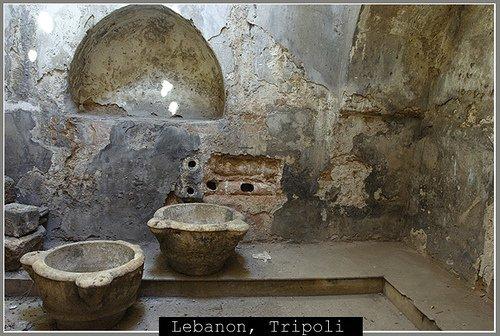 Древняя турецкая баня в Триполи
