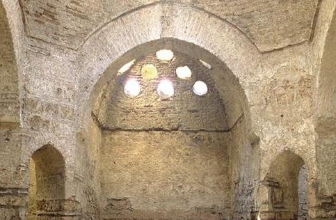 турецкая баня в Евпатории -купол
