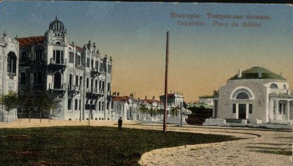 театральная площадь, дом Овчинникова и Библиотека им. Александра2