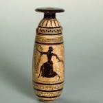 Алабастр. худ. Псиакс. Древняя Греция, Аттика. 520-е гг. до н.э.