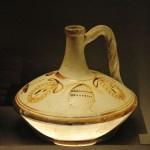 Лагинос с изображением музыкальных инструментов. 150—100 гг. до н. э.