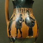Ольпа, гончар — Амасис- 550г. до н.э.