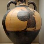 амфара-Панафинейская амфора. Ок. 560 г. до н. э.
