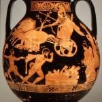 пелика-Афина и Геракл