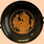 Красно-фигурный килих (Kylix), 480-470 до н.э.