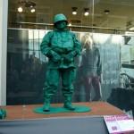 «Солдат» из Чили-Living Statues Arnhem 2011