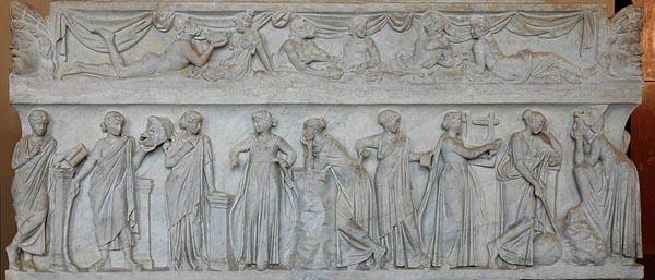 Саркофаг муз (II в. н.э.