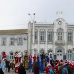 Театр на ходулях в Евпатории