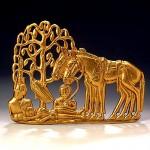 звериный стиль-Западная Сибирь-5-4вв.до.н.э-напоясная деталь