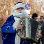 Санта Клаус отдыхает – на арене Дед Мороз