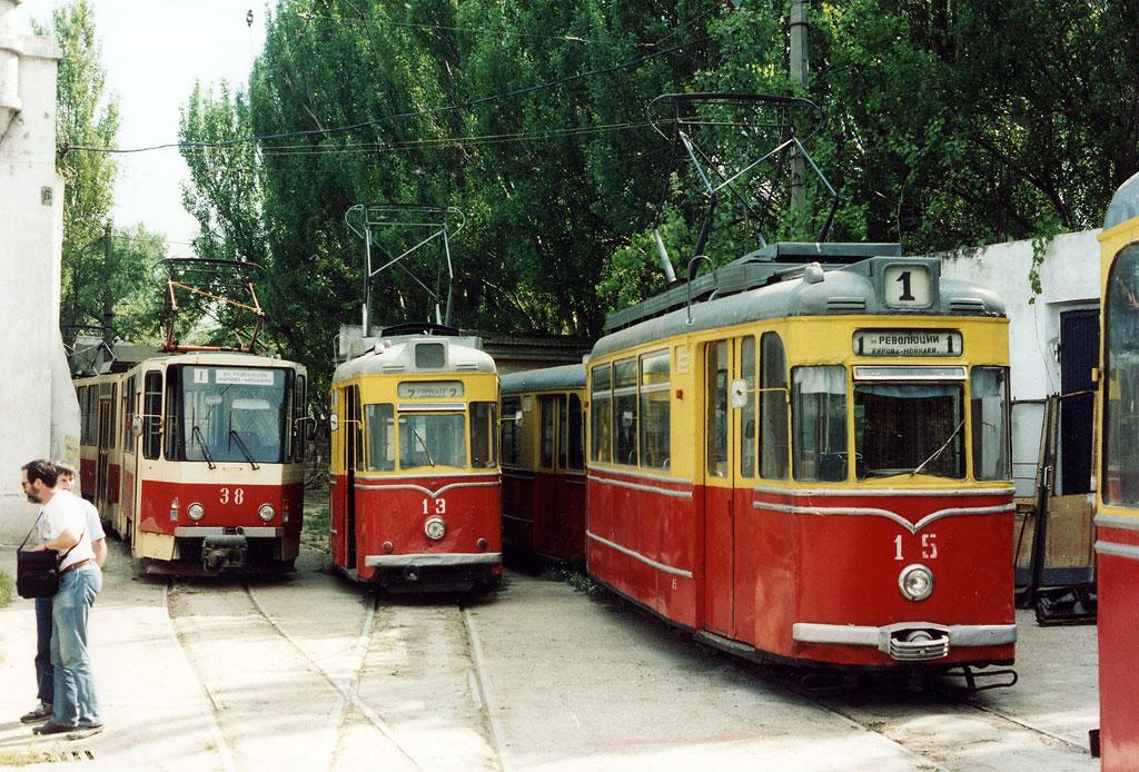 СССР узкоколейные трамваи