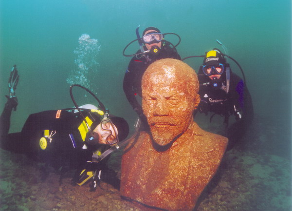 Подводный музей Тарханкута