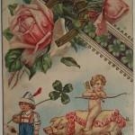NY-розы-любовь, трелистник-счастье, свинья-богатство, подкова-удача