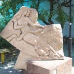 Парк в Евпатории с фигурами Зодиака