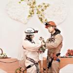 В Евпатории сыграли свадьбу в подземелье