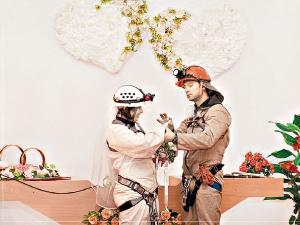 Свадьба под землей в Евпатории