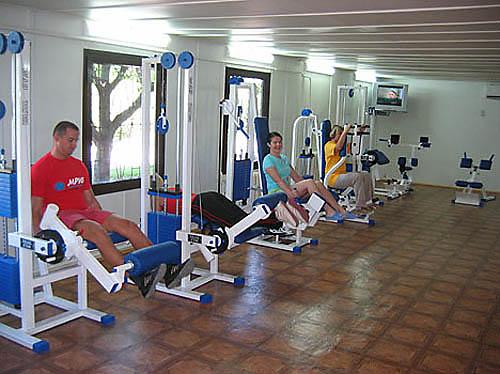 спортзал санатория Мрия