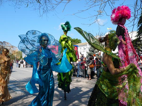 Евпатория, открытие курортного сезона 28 апреля 2012